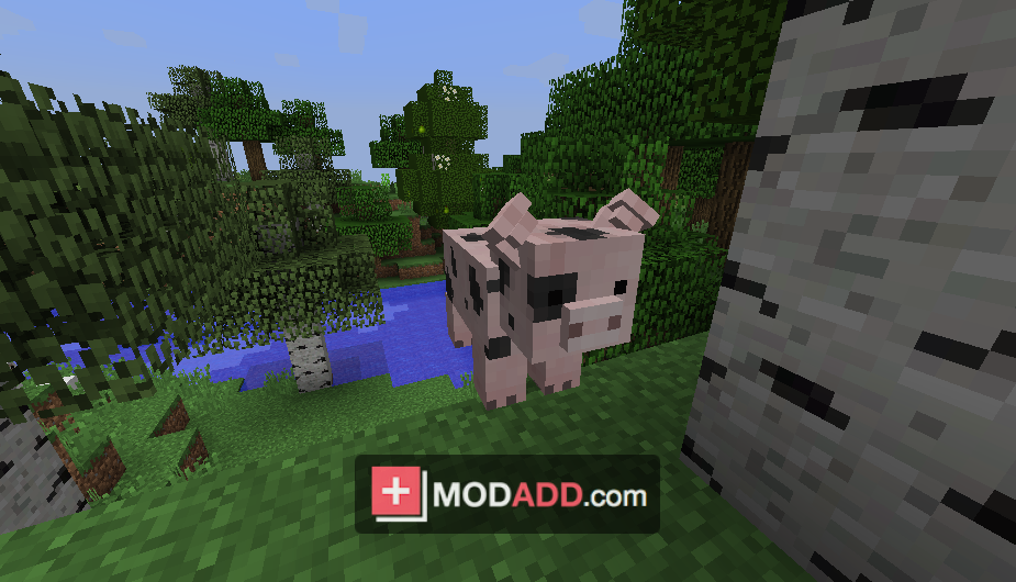 Мод Animania для Minecraft 1 7 10
