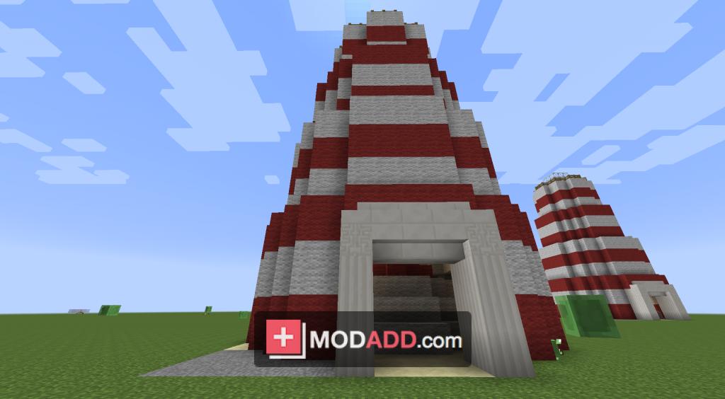 мод Instant Massive Structures для Minecraft 1 7 10