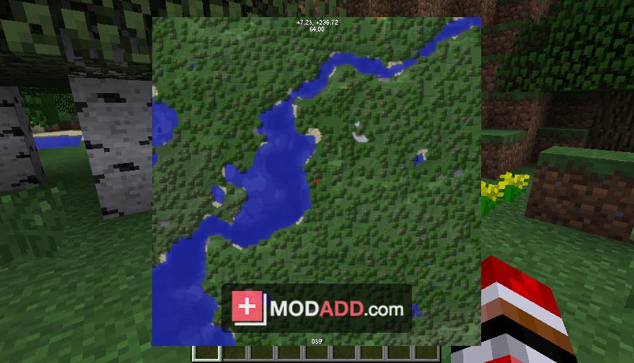 мод который показывает карту minecraft 1.7.10 zan s minimap #7