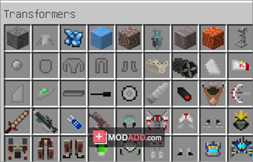 Мод transformers для minecraft 1. 6. 4.