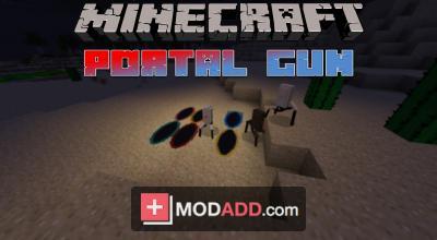 Portal gun 2 mod for mcpe 0. 10. 5/0. 10. 4 file-minecraft. Com.